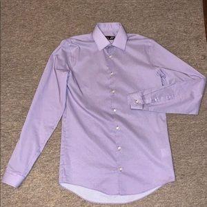 J. Ferrar SMALL Button Up Dress Shirt
